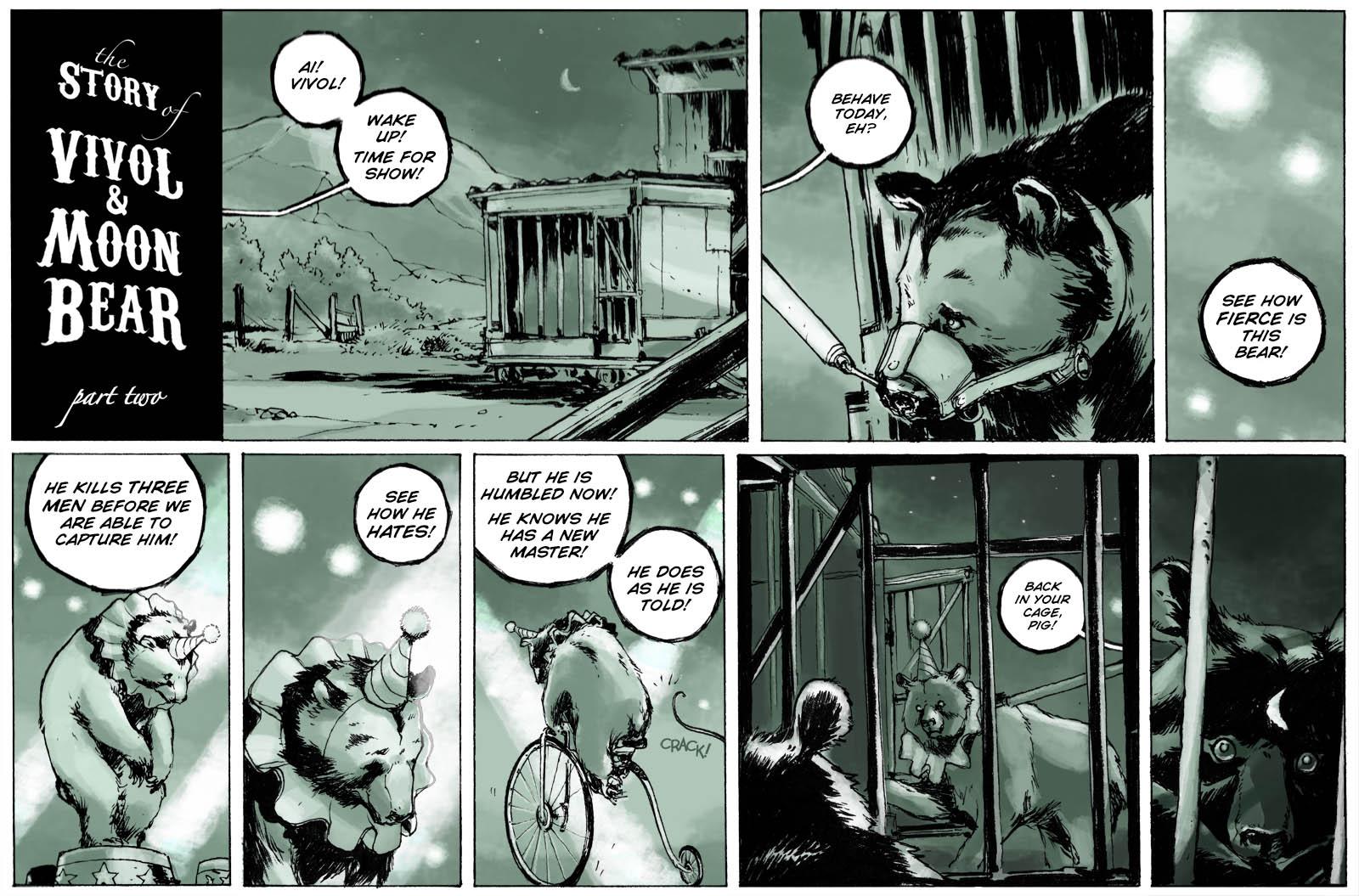 The Story of Vivol & Moon Bear – part two