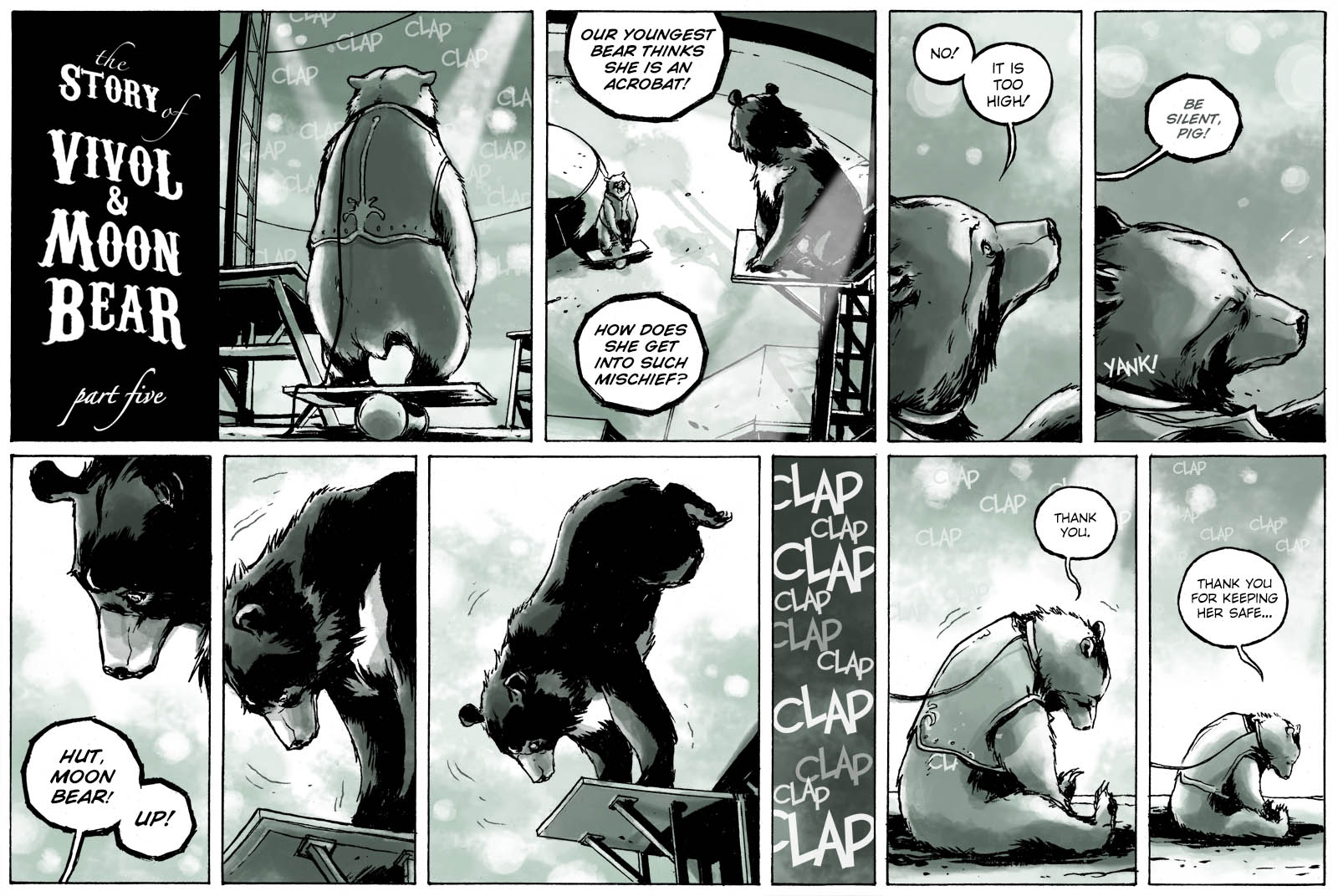The Story of Vivol & Moon Bear – part five