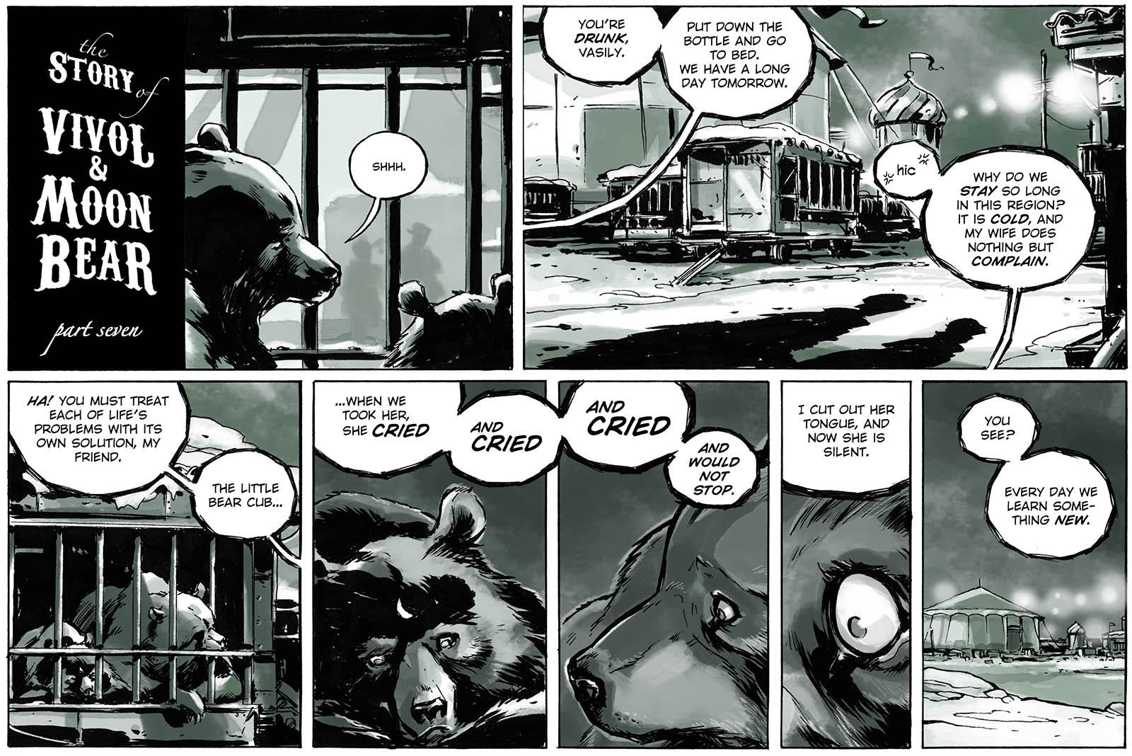 The Story of Vivol & Moon Bear – part seven