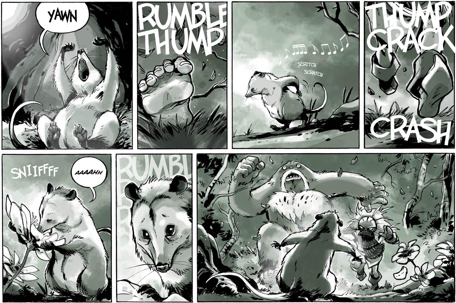 Opossum Interruptus