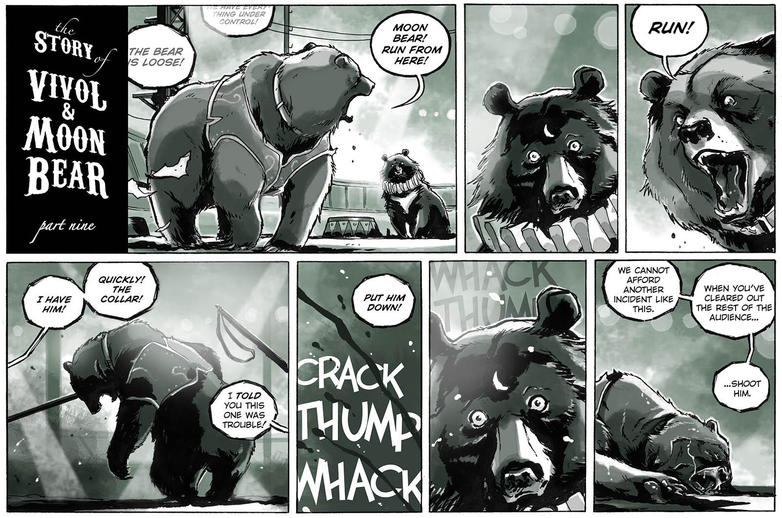 The Story of Vivol & Moon Bear – part nine