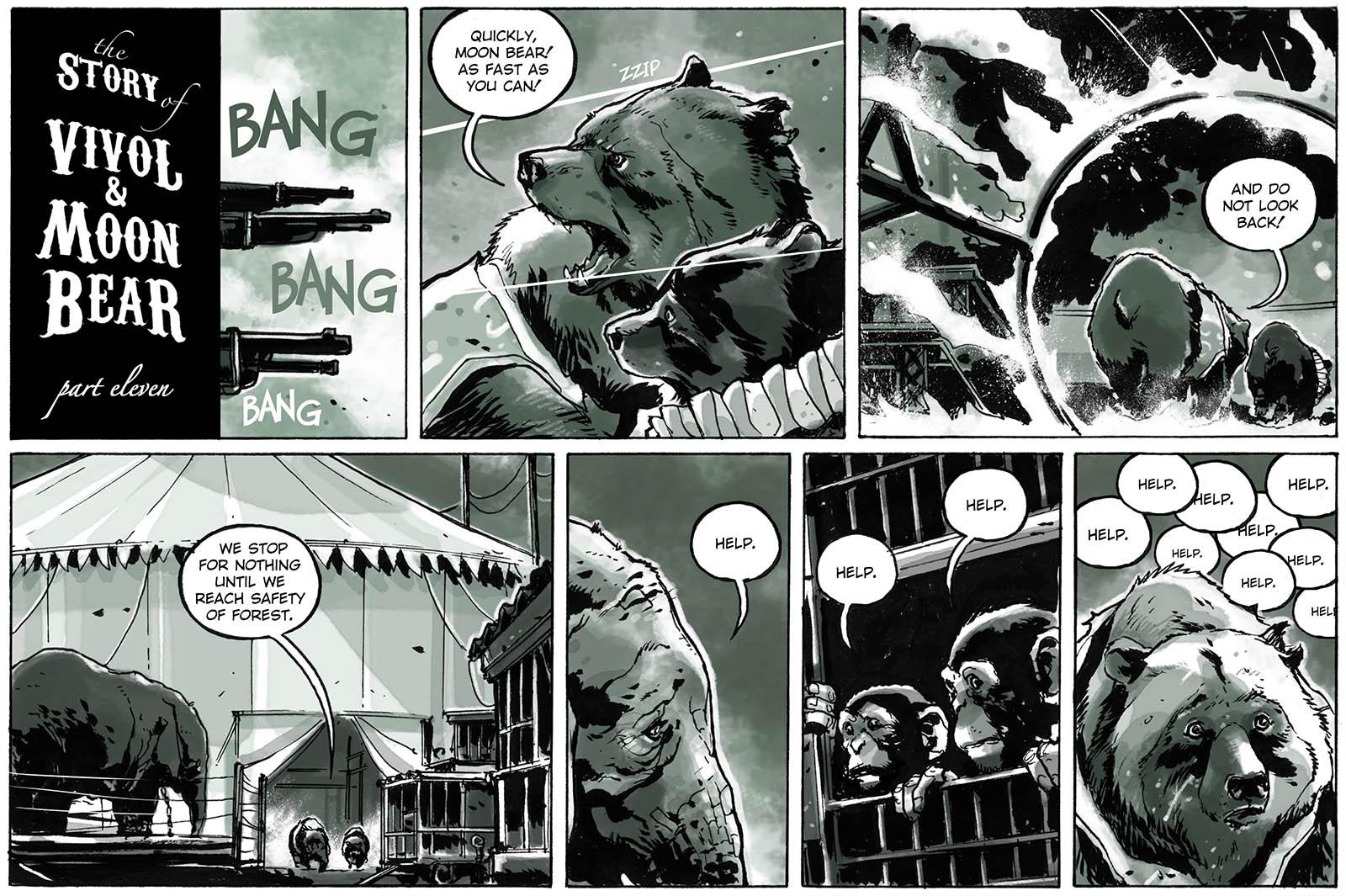 The Story of Vivol & Moon Bear – part eleven