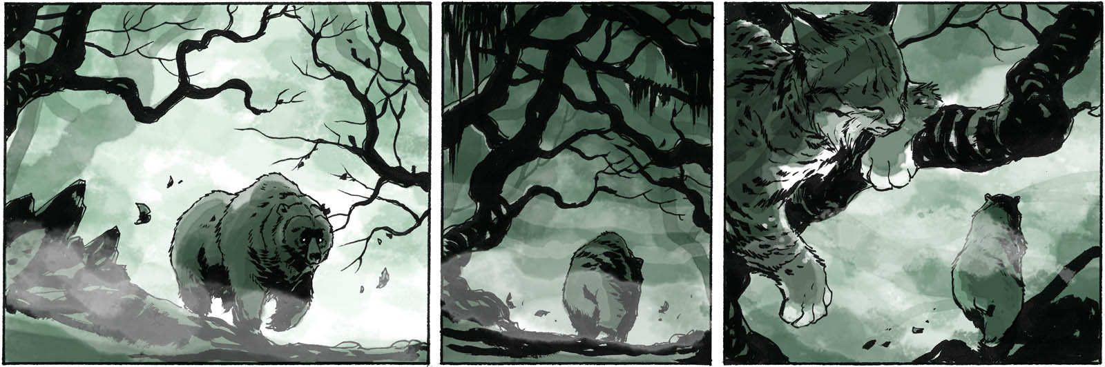 Watcher in the Woods