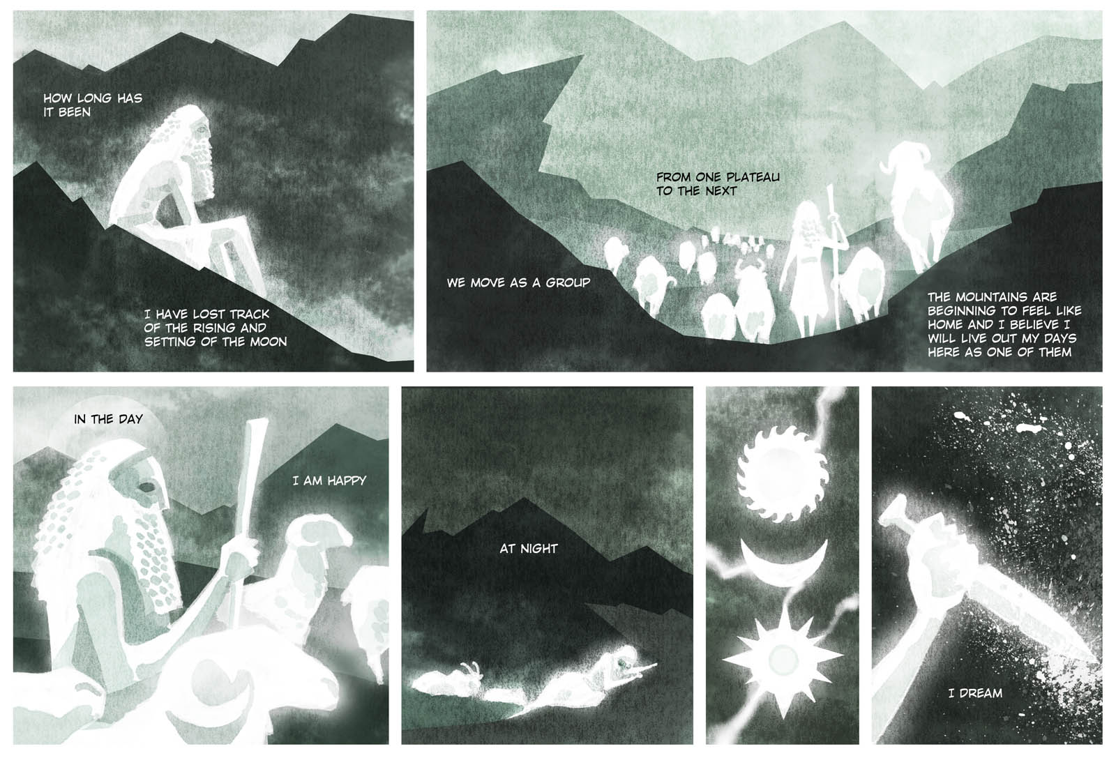 The Mountain Cave- part three