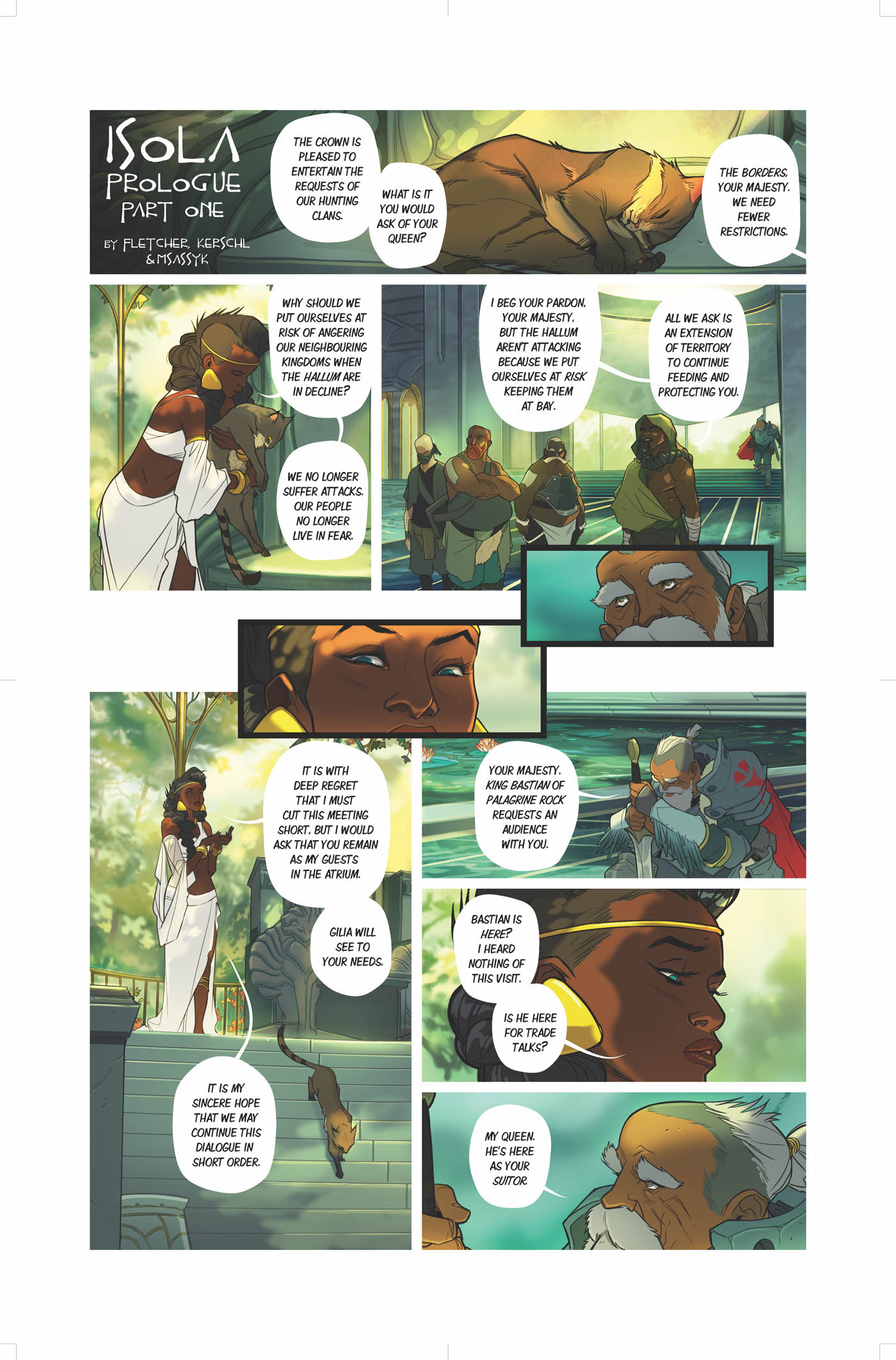 ISOLA Prologue – Page 1