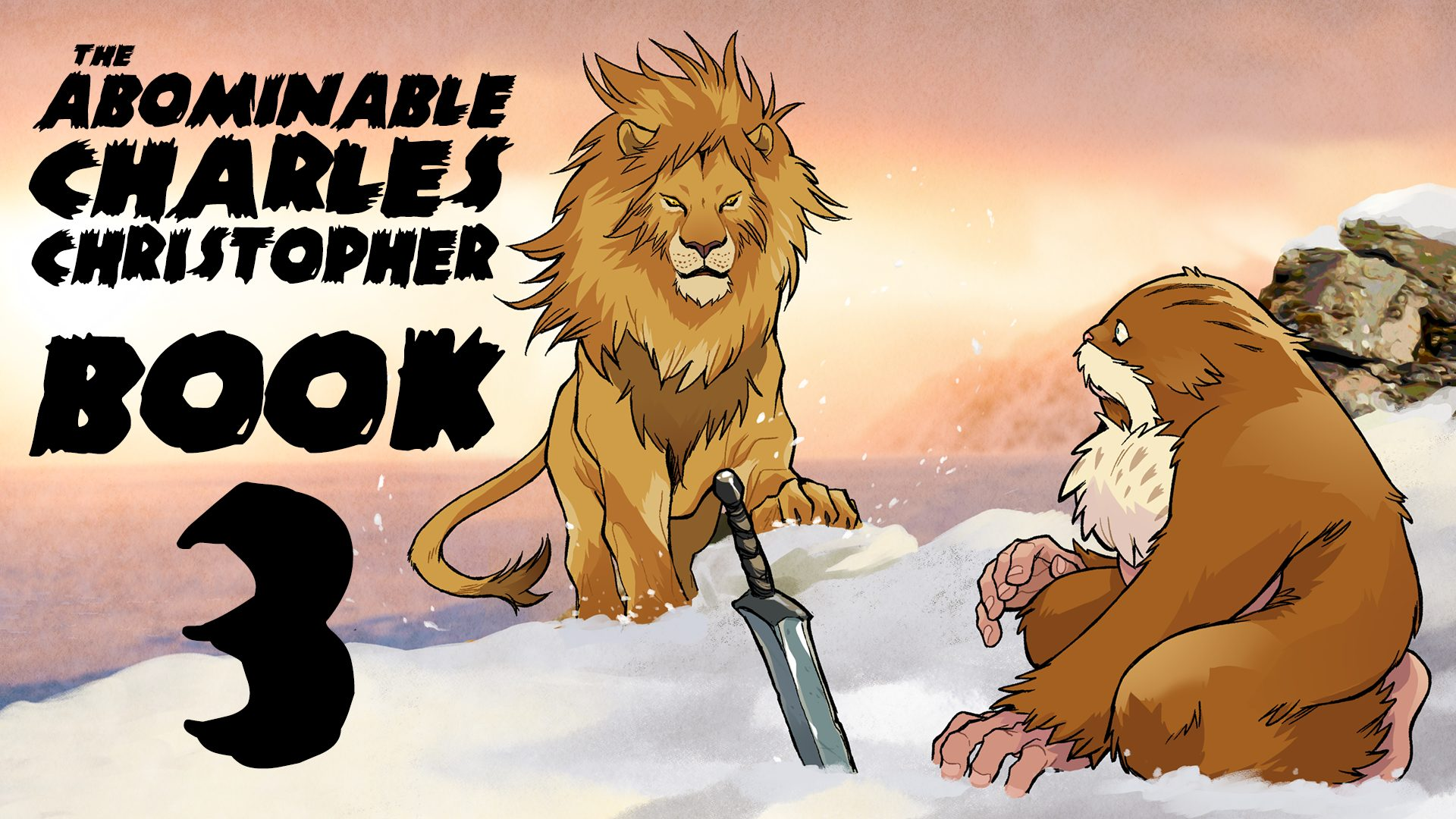 abominable Book 3 Kickstarter