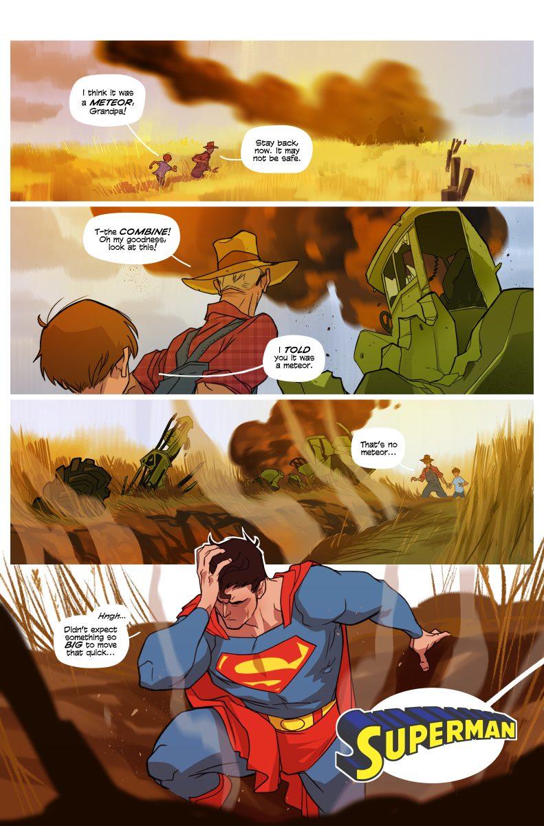 Superman Short Story – 02