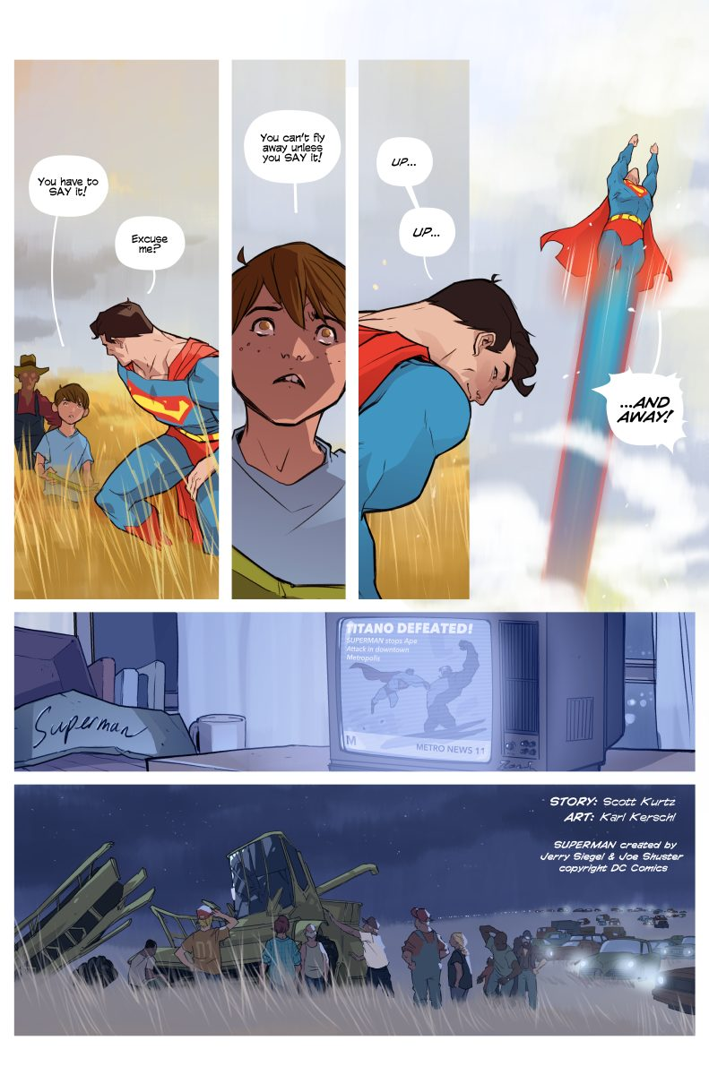 Superman Short Story – 05